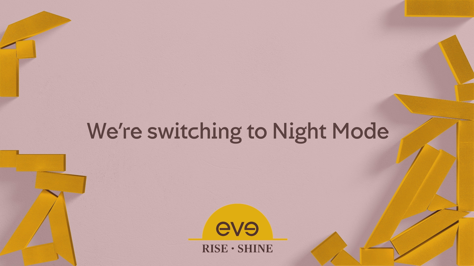 C4, eve sleep night mode ad break intro