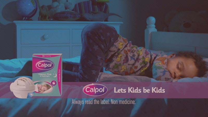 Calpol ad in night mode resized