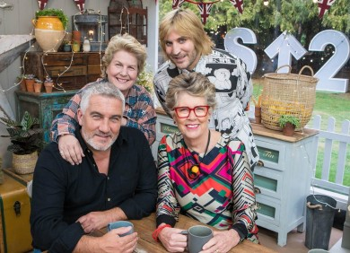 Celeb bake off
